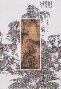 陈俊-《经典-今典NO.14》-110×75cm-纸本-综合材料-2017-copy.jpg