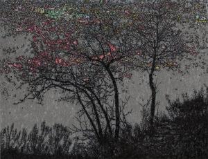 陈俊-《静夜思NO.20》-纸本-综合材料-109x142cm-2019.jpg